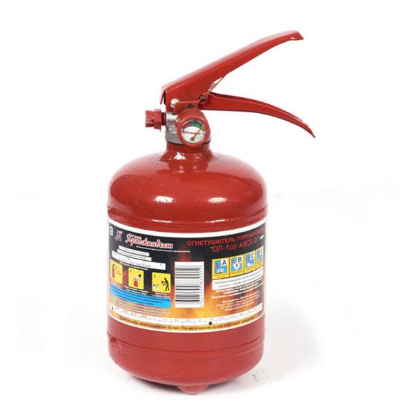 Огнетушитель порошковый ОП-1 (з)