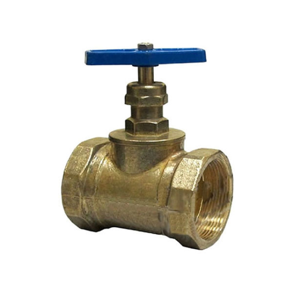 Кран (клапан)  Ду–50, латунь, прямой 15Б3Р (муфта/муфта)