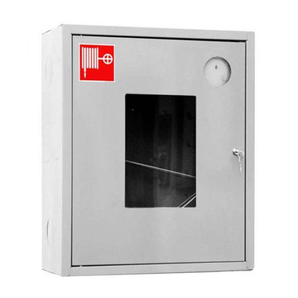 Шкаф пожарный ШПК-310, открытый  навесной, 540х650х230 (для ПК) пр/лев.красный/белый