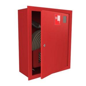 Шкаф пожарный ШПК-310, закрытый  встраиваемый 540х650х230 (для ПК) пр/лев.красный/белый