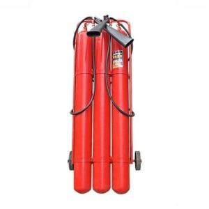 Огнетушитель углекислотный ОУ-50 на шасси