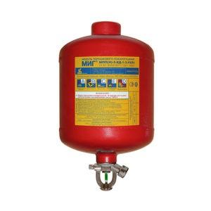 Модули порошкового пожаротушения МПП-5 с термочувствительной колбой, Температура срабатывания: 68С⁰