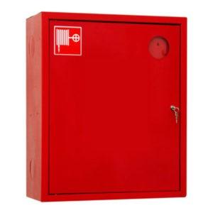 Шкаф пожарный ШПК-310, закрытый навесной, 540х650х230 (для ПК) пр/лев. красный/белый
