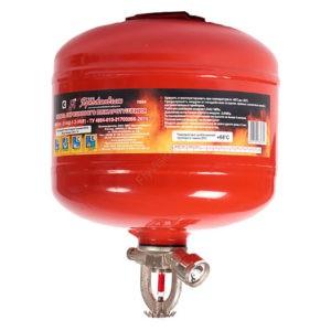 Модули порошкового пожаротушения МПП-2,5 с термочувствительной колбой, Температура срабатывания: 68С⁰