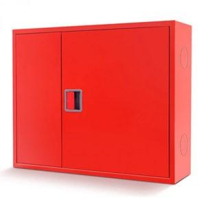 Шкаф пожарный ШПК-315 закрытый, встраиваемый, 840х650х230 (для ПК и одного огнетушителя)
