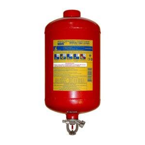 Модули порошкового пожаротушения МПП-7 с термочувствительной колбой, Температура срабатывания: 68С⁰