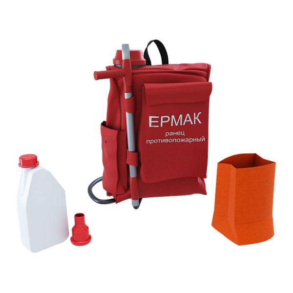 Ранцевый огнетушитель РП-Ермак-18 с г/пульт метал.